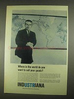 1967 Indiana Department of Commerce Ad - Sell Goods