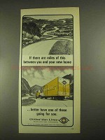 1967 United Van Lines Ad - Miles Of This Between You