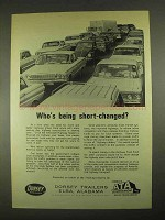 1967 Dorsey Trailers Ad - Who's Being Short-Changed?