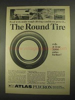 1967 Atlas Plycron Tire Ad - Road Tests Prove It