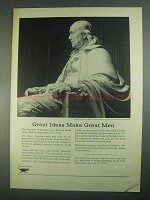 1967 Higher Education Ad - Great Ideas Make Great Men