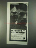 1967 Radio Free Europe Ad - Hear Both Sides