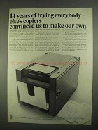 1967 Pitney-Bowes 250 Copier Ad - Convinced to Make