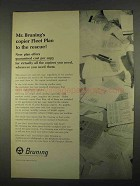 1967 A-M Bruning Copier Ad - Fleet Plan to the Rescue