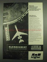 1967 SCM Kleinschmidt 311 Data Printer Ad - BOAC