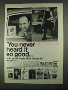 1967 RCA Stereo 8 Cartridge Tapes Ad - Henry Mancini