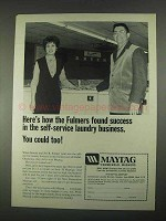 1967 Maytag Commercial Washers Ad - Found Success