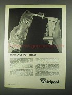 1967 Whirlpool Ad - Apollo Water Dispenser