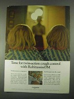 1967 A-H Robins Robitussin-DM Ad - Twin-Action Cough