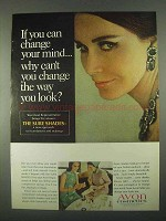 1967 Avon Sure Shades Cosmetics Ad - Change Mind