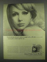 1967 Clairol Make-up Ad - Lucky Enough to Be a Blonde