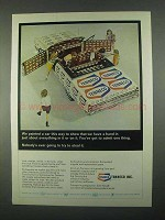 1967 Tenneco Inc. Ad - We Painted a Car Like This