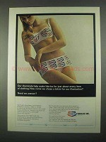 1967 Tenneco Inc. Ad - Chose a Bikini For Illustration