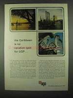 1967 UOP Universal Oil Products Ad - The Caribbean