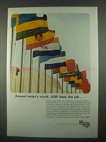 1967 UOP Universal Oil Products Ad - Today's World