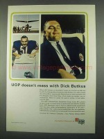 1967 UOP Universal Oil Products Ad - Dick Butkus