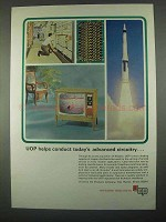 1967 UOP Universal Oil Products Ad - Advanced Circuitry