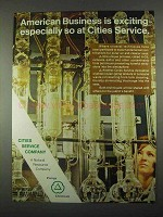 1967 Cities Service Company Ad - American