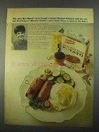 1967 French's Mashed Potatoes Ad - Veal Palazzo