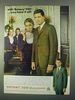 1967 Botany 500 3-Button Suit Ad - You Have it All