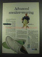 1967 Keds Mainsail Shoes Ad - Advanced Sneaker-Wearing