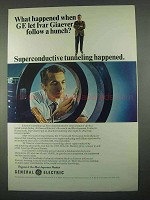 1967 General Electric Ad - Ivar Giaever Follow Hunch