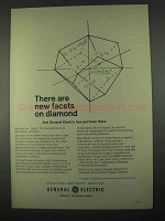 1967 General Electric Man-Made Diamonds Ad - New Facets