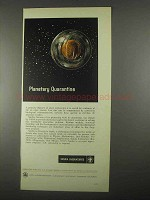1967 Sandia Laboratories Ad - Planetary Quarantine