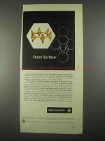 1967 Sandia Laboratories Ad - Fermi Surface