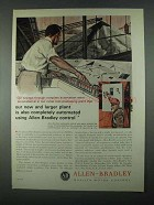 1967 Allen-Bradley Controls Ad - New Larger Plant