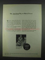 1967 Warner & Swasey Turret Lathe Ad - Black Power