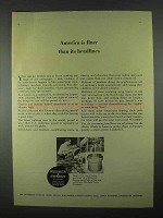 1967 Warner & Swasey Turret Lathe Ad - America is Finer