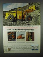 1967 Eaton Yale & Towne Trojan Loader Ad - Muscles