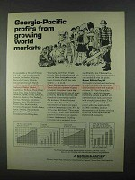 1967 Georgia-Pacific Ad - Growing World Markets