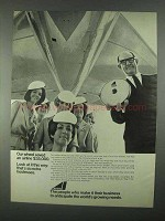 1967 Avco Corporation Ad - Our Wheel Saved Airline