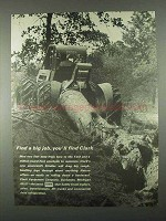 1967 Clark Powershift Skidder Ad - Find a Big Job