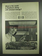 1967 Raytheon Ultra-Ray Broiler Ad - Infrared Energy