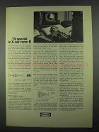 1967 Raytheon Company Ad - TV Special in X-ray Room B