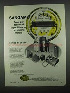 1967 Sangamo Electric Company Ad - Developing Meters