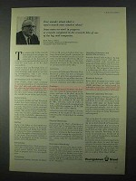 1967 Youngstown Steel Ad - A Steel Research Man Wonders