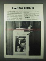 1967 Oasis Water Coolers Ad - Executive Lunch-In