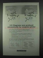 1967 Calcomp Plotting Systems Ad - 3-D Diagrams