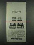 1967 Sony Solid-State Ad - 900-A, 800, 907, 860