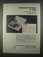 1967 Panhandle Eastern Pipe Line Company Ad - Report on Growth