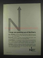 1967 Northern Natural Gas Ad - Things Are Pointing Up