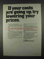 1967 American Electric Power System Ad - Costs Going Up