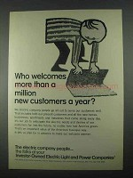 1967 Investor-Owned Electric Light & Power Companies Ad - Welcomes