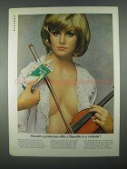 1967 Tiparillo Cigars Ad - Should Offer to a Violinist?