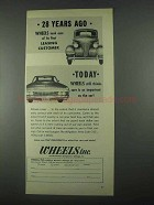 1967 Wheels Inc. Ad - 28 Years Ago