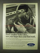 1967 Ford Automatic Speed Control Ad - Foot Work
